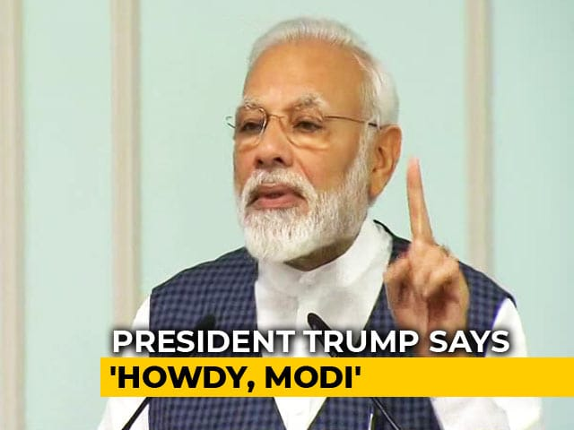"Video : ""Howdy, Modi"" To Be Biggest US Event After Pope's Welcome"