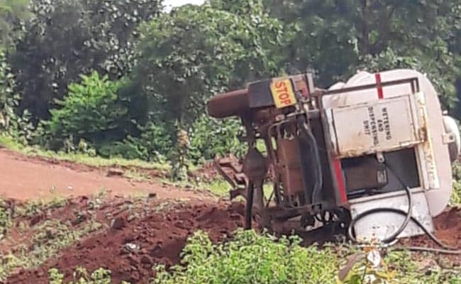 3 Killed After Maoists Blow Up Diesel Drum In Chhattisgarh; Encounter On