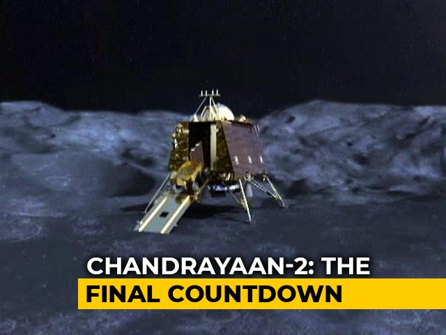 Video : India's Chandrayaan 2 To Land Tonight On Less Explored Part Of Moon