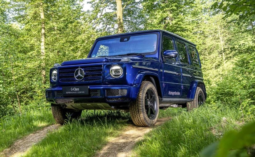 The Mercedes-Benz G 350d is a potent off-roading machine