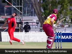 """South Australia Bowler Escapes """"Nasty"""" Injury After Landing Awkwardly During Marsh Cup. Watch"""