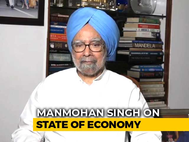 Video : Set Aside Vendetta Politics, Fix Economy, Manmohan Singh Tells Centre