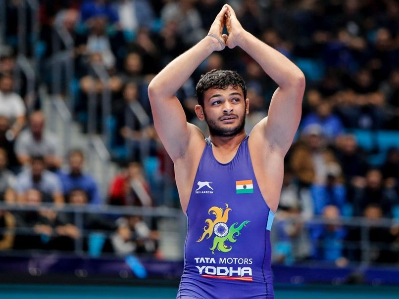 Deepak Punia as injury ends bid for world championships gold