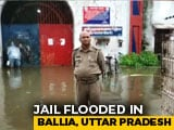 Video : 500 Prisoners To Be Shifted Out As Heavy Rain Floods Jail In Eastern UP
