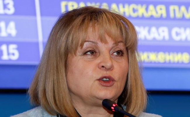 Masked Man Attempts To Taser Russian Election Chief Before Regional Vote