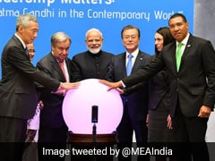 "PM Modi Inaugurates ""Gandhi Solar Park"" At UN Headquarters"