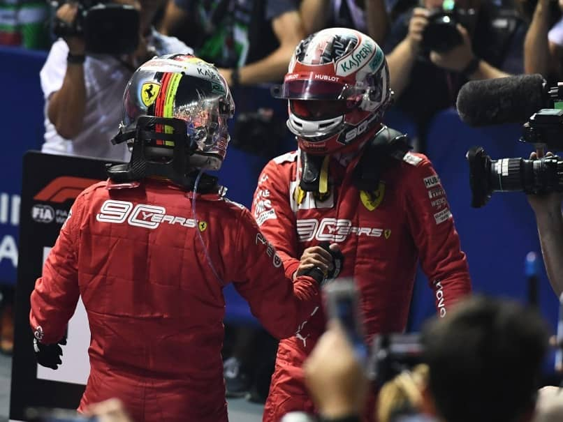 Singapore GP Win Wont Sour Relationship With Charles Leclerc, Insists Sebastian Vettel