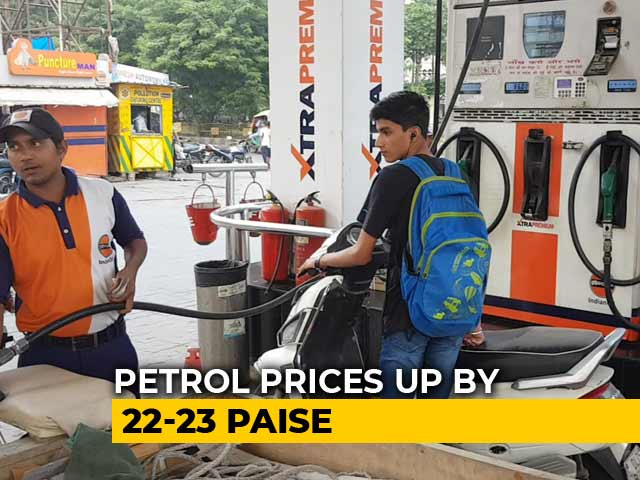 Video : Petrol, Diesel Prices Rise For Eighth Day In A Row