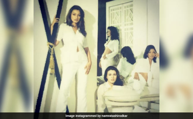 Namrata Shirodkar's Throwback Pic From Her Modelling Days Is