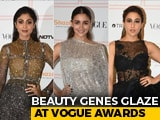 Video : Alia, Shilpa And Sara Turn Up The Heat On The Vogue Beauty Awards Red Carpet