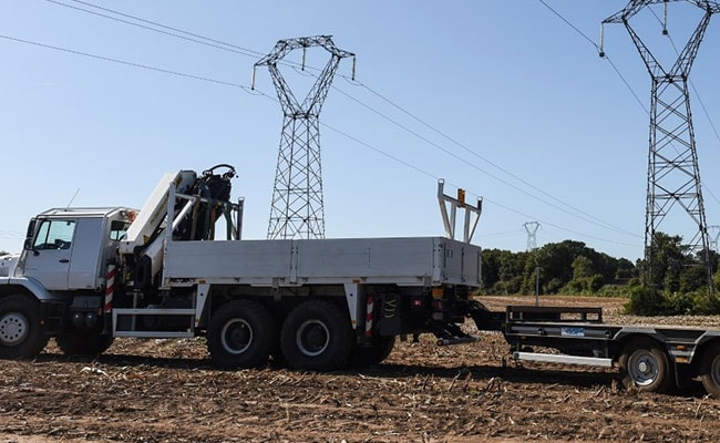 Pilot Dangles From Power Line For 2 Hours After Plane Crash In France, Saved