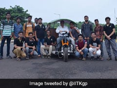 IIT Kharagpur Students Develop New Electric Vehicle, Trial Run A Success