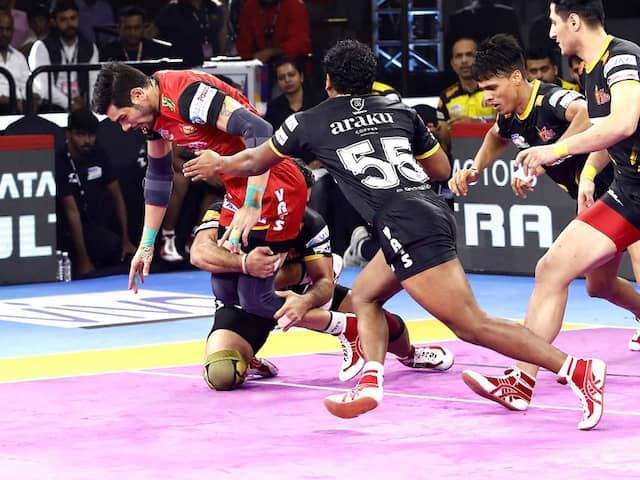 PKL 7: UP Yoddha Beat Patna Pirates, Bengaluru Bulls Edge Past Telugu Titans