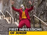 Video : First Impressions Of <i>Joker</i>