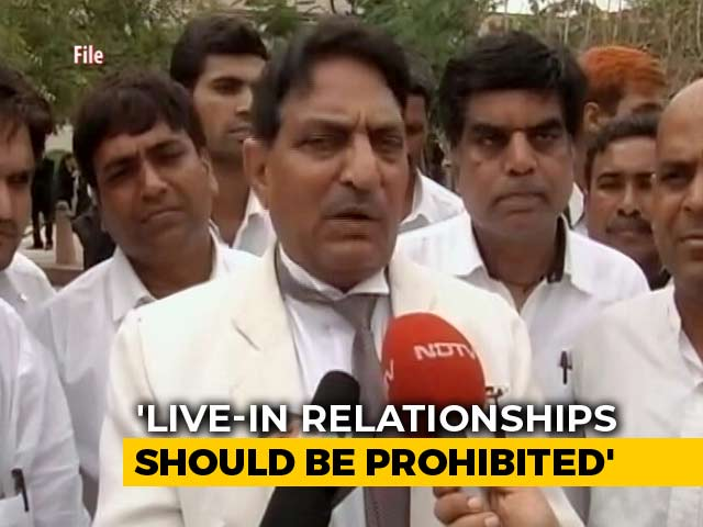 """Video : """"A Woman In Live-In Like Concubine"""": Rajasthan Rights Body Calls For Ban"""