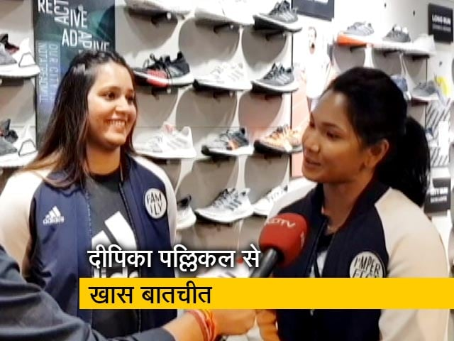 Videos : दीपिका पल्लिकल, स्वप्ना बर्मन और सिमरनजीत कौर ने शेयर किया अपना फिटनेस मंत्रा