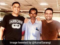 MS Dhoni Enjoys A Game Of Billiards At JSCA Stadium In Ranchi