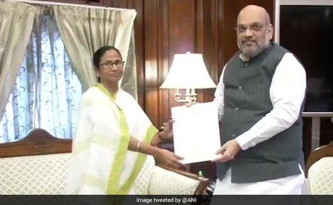 असम की तरह पश्चिम बंगाल में NRC की ज़रूरत नहीं : अमित शाह से ममता बनर्जी