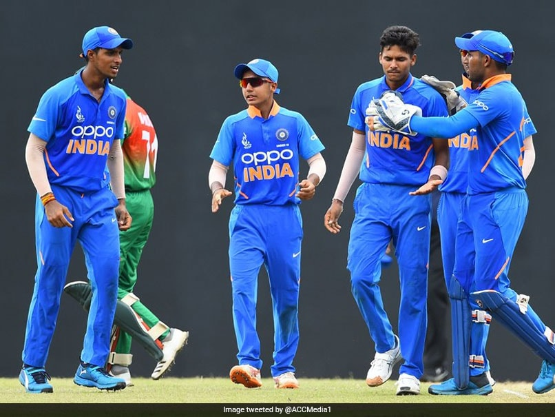 India Beat Bangladesh By Five Runs To Lift Under-19 Asia Cup Title