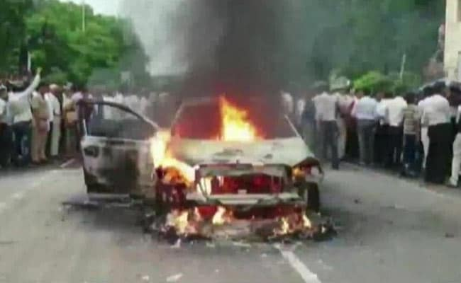 'He Set His Own Car On Fire': Mathura Man Arrested After Triggering Panic