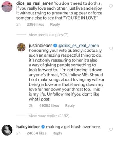 Justin Bieber Shuts Down Troll Who Said He 'Didn't Need To