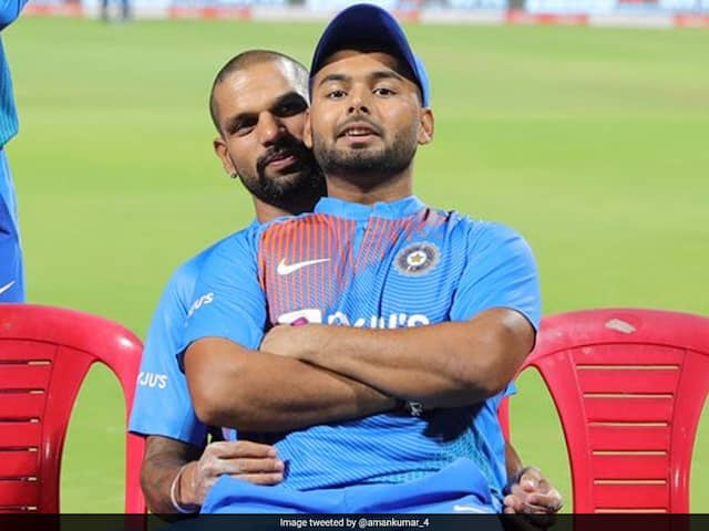 """""""Dont Love Boys That Much"""": Shikhar Dhawans Funny Response On His Viral Picture With Rishabh Pant"""