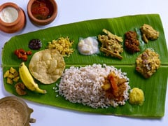 Happy Onam 2019: A Look At Elaborate Malayali Spread - Onam <i>Sadya</i>