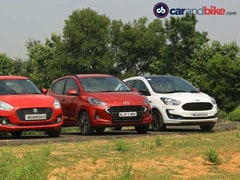 Exclusive: Hyundai Grand i10 Nios vs Maruti Suzuki Swift vs Ford Figo