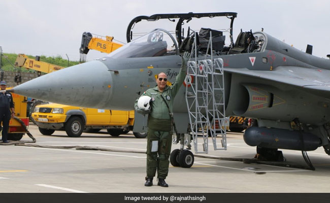 Rajnath Singh Flies Tejas. Know More About The Made-In-India Fighter Jet