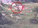 Video : Video Shows Pak Soldiers With White Flags Retrieve Bodies Near LoC