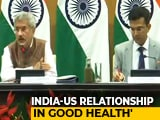 "Video : Consider India-US Ties As Glass ""90 Per Cent Full, Not..."": S Jaishankar"