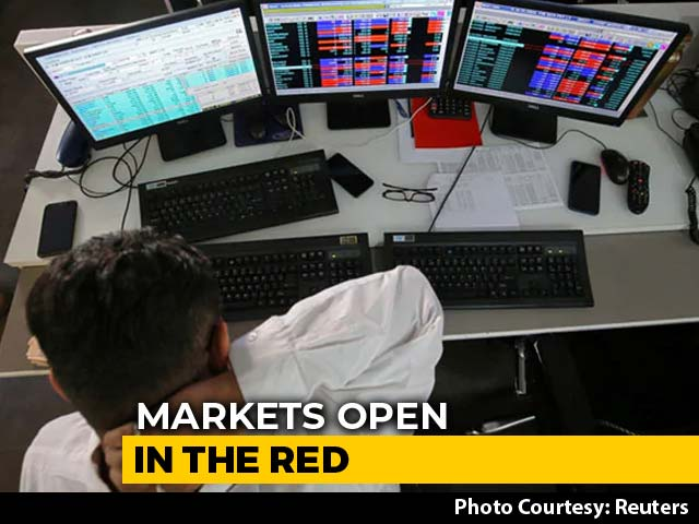 Video: Sensex Drops Over 250 Points, Nifty Slides Below 11,000