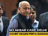 "Video : ""Case Has Come At Great Personal Cost"": Priya Ramani To Court On MJ Akbar"