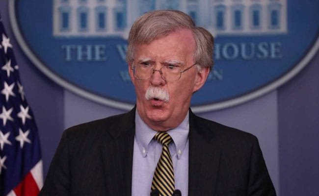 After Clashing With Trump, John Bolton Out As National Security Advisor