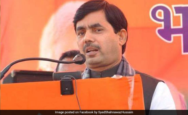 Shahnawaz Hussain, Mukesh Sahni Elected Unopposed To Bihar Legislative Council