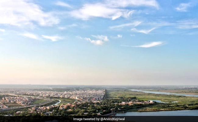 Guess Which City? Arvind Kejriwal Tweets Photos Of Clear, Blue Skies