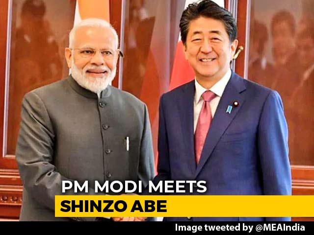 Video : Trade, Defence, 5G Tech In Focus As PM Modi, Shinzo Abe Meet In Russia