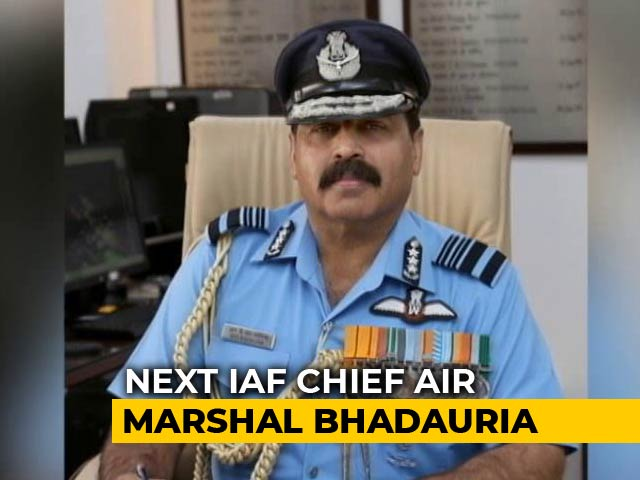 Video : Vice Chief Of Air Staff RKS Bhadauria To Be Next Air Chief