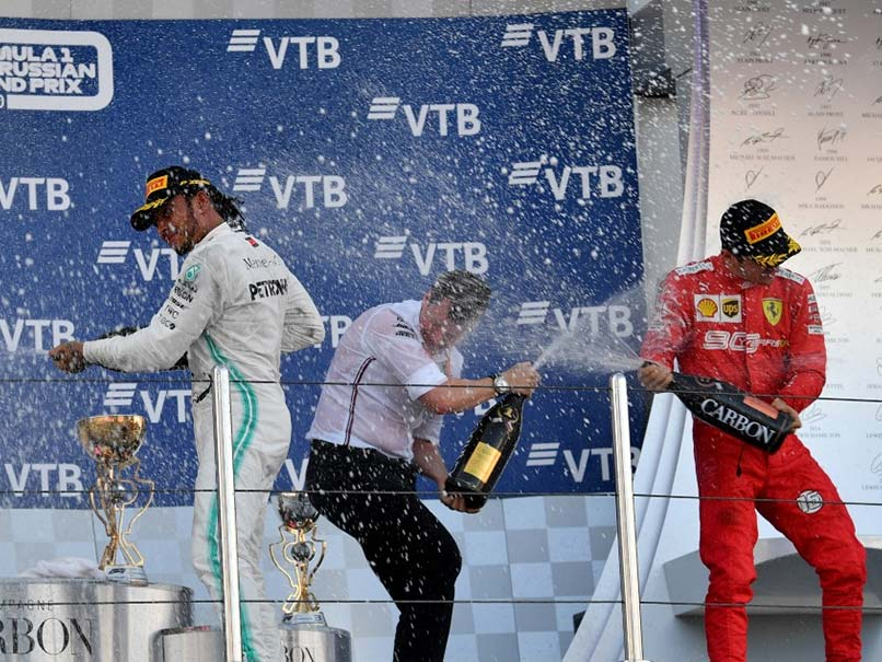 Russian Grand Prix: Lewis Hamilton Leads Mercedes One-Two Finish In Russia
