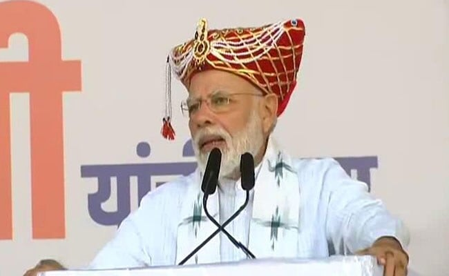 महाराष्ट्र में बोले PM मोदी, कुछ बयानवीर राम मंदिर पर अनाप-शनाप बयान दे रहे हैं, प्रभु श्रीराम के खातिर...