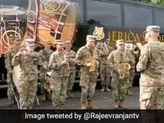 अमेरिकन आर्मी ने बजाई भारतीय राष्ट्रगान 'जन गण मन' की धुन, युद्धाभ्यास के वक्त निकाला बैंड और... देखें VIDEO