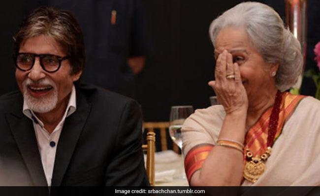 When Amitabh Bachchan Carried Waheeda Rehman's Juttis On The Sets Of Reshma Aur Shera