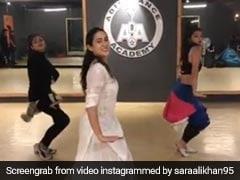 सारा अली खान ने 'स्वीटहार्ट' गाने पर किया ऐसा डांस, वीडियो देख उड़ जाएंगे होश