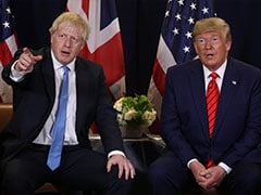 "Donald Trump Wishes Boris Johnson A ""Speedy Recovery"" From COVID-19"