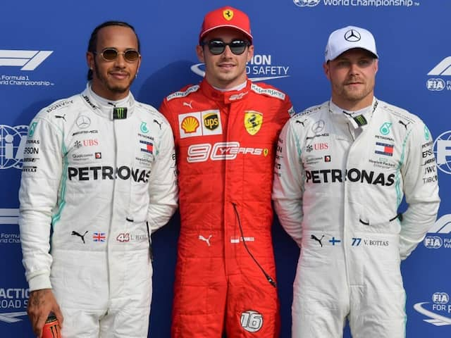 """Italian Grand Prix: Charles Leclerc On Monza Pole After Qualifying """"Mess"""""""