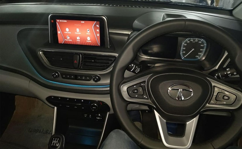 Tata Altroz Spy Shots Reveal New Infotainment System