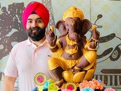 Ganesh Chaturthi 2019: 20 शेफ ने 10 दिन में बनाए चॉकलेट गणेश, प्रतिमा में ये है खास बात