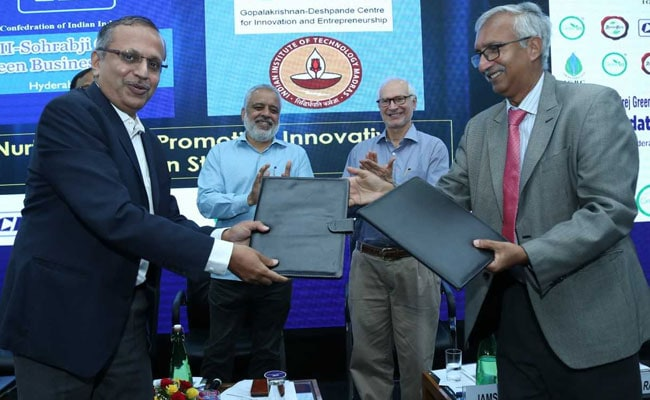 IIT Madras, CII Collaborate To Promote Innovative Green Startups