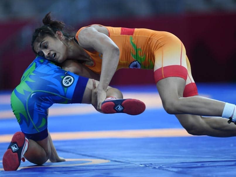 Vinesh Phogat wins bronze at World Wrestling Championship, qualifies for Tokyo Olympics
