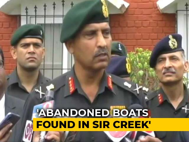 Video : Terror Alert For South India Based On Boats Found In Gujarat's Sir Creek